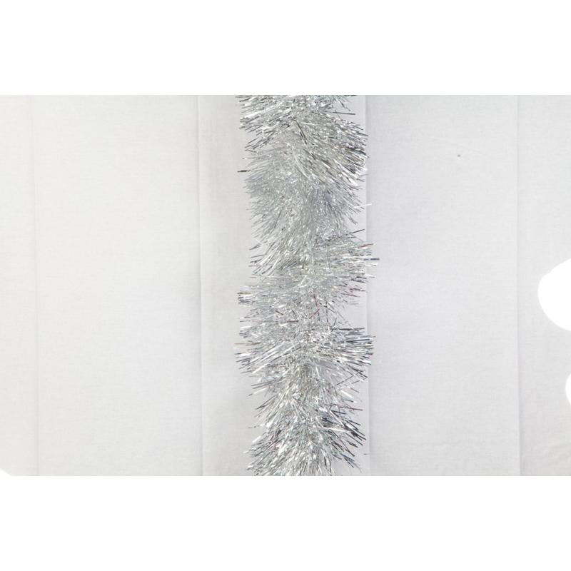 Silver Maxi Tinsel 20cm 4ply 2.5m