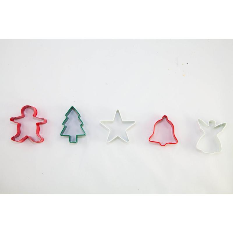 Christmas Cookie Cutters set of 5